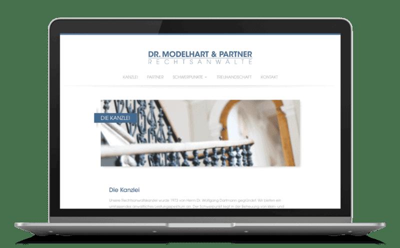 RA Modelhart Website Relaunch Typo3 zu WordPress